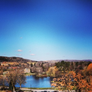 view from Case Library © Instagramed by Lauren Glasse